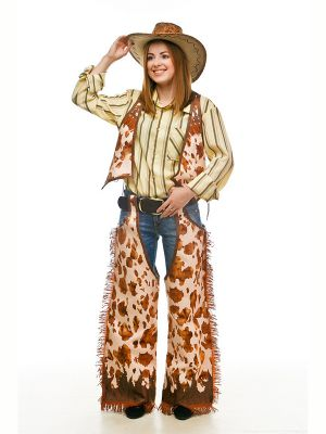 фото костюм девушка ковбой